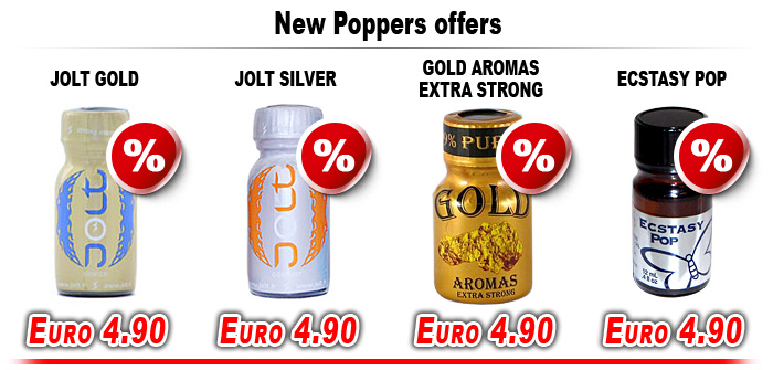 New Poppers offers