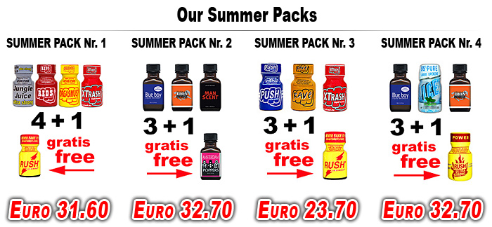 Poppers Summer Pack