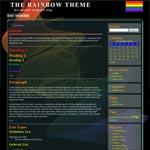 Rainbow Flag Template